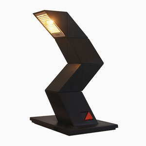 Zig Zag Desk Lamp by Chan Shui for Massive Lighting, 1980s