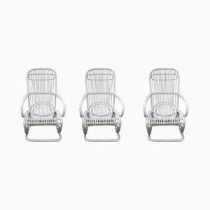 Garden Armchairs, 1970s, Set of 3