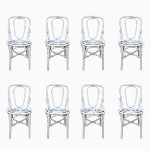 Chaises de Jardin Vintage, 1970s, Set de 8