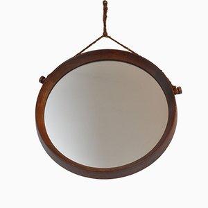 Mid-Century Danish Teak Mirror