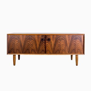 Low Danish Rosewood Sideboard, 1960s