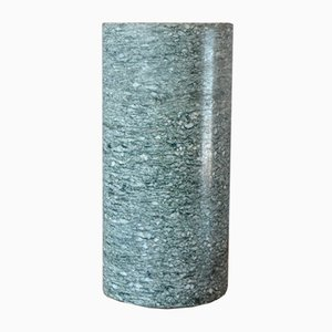 Minimalist Grey Granite Vase, 1980s