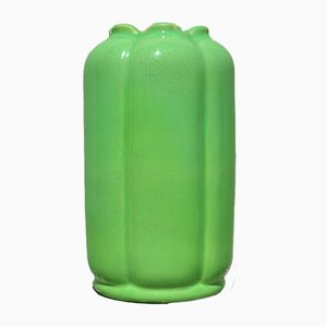 Green Vase by Wilhelm Kåge, 1930s