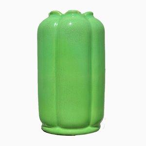 Grüne Vase von Wilhelm Kåge, 1930er