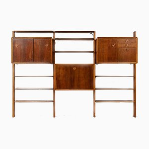 Mid-Century Modular Wall System by William Watting for Fristho