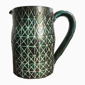 Brocca vintage in ceramica di Robert Picault
