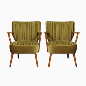 Vintage Danish Armchairs, Set of 2