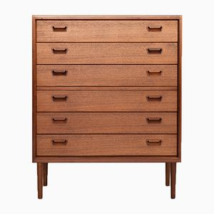 Vintage Danish Teak Chest of 6 drawers from Munch Møbler Slagelse