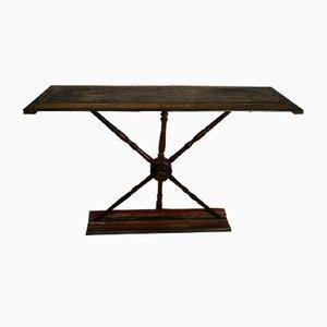 Table Console à Rouet Vintage