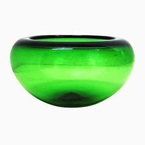 Glass Fruit Bowl by Per Lütken for Holmegaard, 1960s