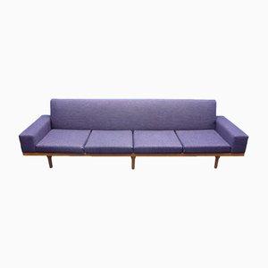 Vintage Sofa mit Gestell aus Teak von lllum Wikkelsø für Søren Willadsen