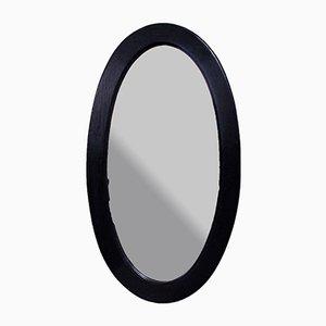 Specchio Napoleone III antico in quercia