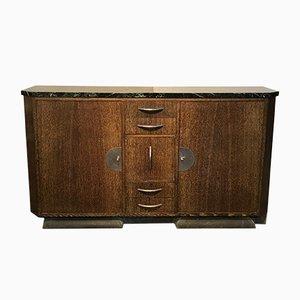 Vintage Palm Veneer Sideboard