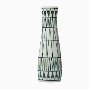 Vase à Motif Géométrique par Brita Heilimo pour Arabia, 1950s