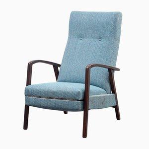 Silla reclinable vintage, años 60