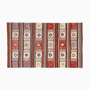 Anatolischer Vintage Kelim Teppich, 1980er