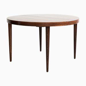 Table de Salle à Manger Ronde Vintage en Palissandre par Kai Kristiansen