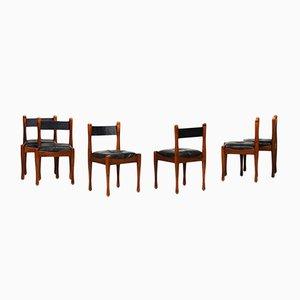 Vintage Esszimmerstühle von Silvio Coppola für Bernini, 1960er, 6er Set