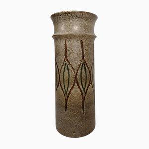 Large Glazed Ceramic Floor Vase, 1970s