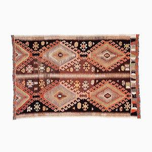 Anatolischer Vintage Kelim Teppich, 1960er