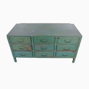 Industrial Italian Chest of Drawers, 1970s
