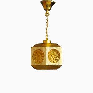 Lámpara colgante sueca de Carl Fagerlund, años 60