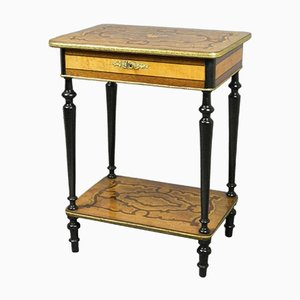 Antique French Marquetry Work Table