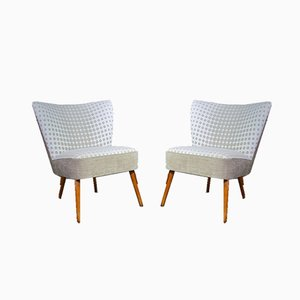 Vintage Cocktail Chairs, 1950s, Set of 2