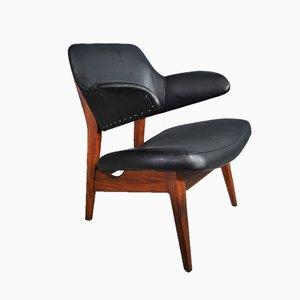 Vintage Armlehnstuhl von Louis van Teeffelen für WeBe, 1950er