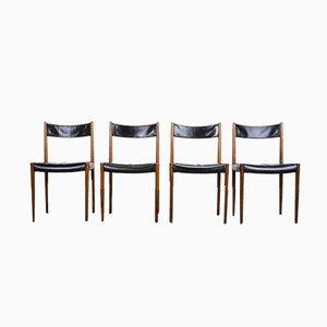 Mid-Century Esszimmerstühle aus Palisander von Lübke, 1960er, 6er Set