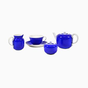 Tea Service Set by Gio Ponti for Richard Ginori, 1930s