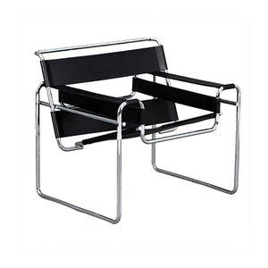 Vintage Wassily B3 Stuhl von Marcel Breuer für Gavina