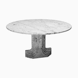 Mesa de mármol de Carlo Scarpa para Simon, 1970