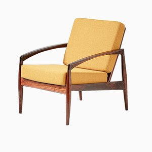 Rosewood Paper Knife Chair by Kai Kristiansen for Magnus Olesen, 1950s