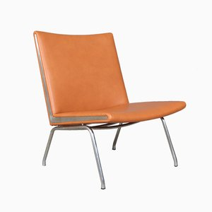 Vintage AP-40 Lufthavnstol Lounge Chair by Hans J. Wegner for A.P. Stolen