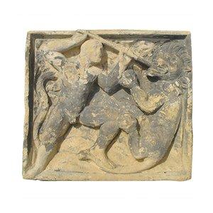 Antike Schnitzerei aus Stein