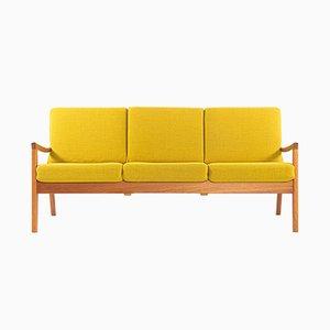 Sofa mit Gestell aus Teak von Ole Wanscher für Poul Jeppesen, 1960er