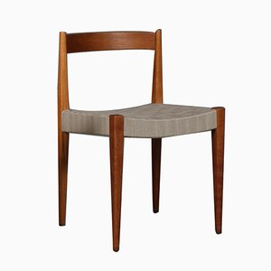 Vintage Oak Dining Chair by Nanna & Jørgen Ditzel, 1960s