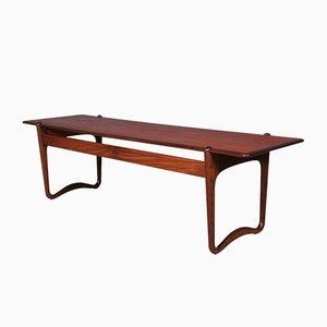 Table Basse en Teck par Peter Hvidt & Orla Mølgaard Nielsen pour France & Søn, 1960s
