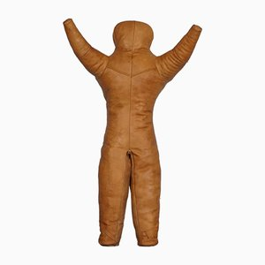 Industrial Leather Wrestling Dummy, 1940s