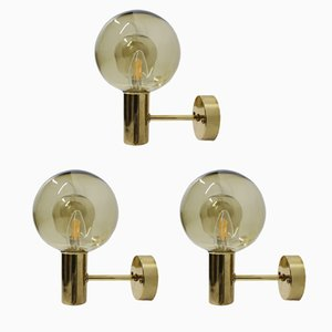 Wall Lights by Hans-Agne Jakobsson, 1960s, Set of 3
