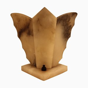 Art Deco Stone Lamp
