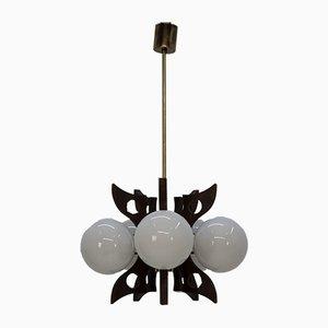 Lámpara de araña de Kamenicky Senov, años 60