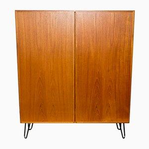 Mueble danés de teca de Omann Jun, años 70