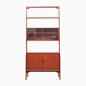 Scandinavian Teak Bookcase by Erik Buch, 1960s