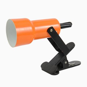 Orange Clip Lamp from Massive, 1970s