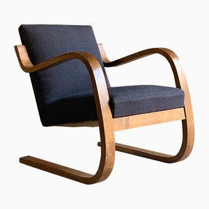 Model 402 Lounge Chair by Alvar Aalto for Finmar, 1930s