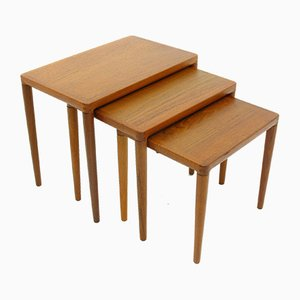 Nesting Tables by H.W. Klein for Bramin, 1970s