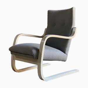Model 401 Lounge Chair by Alvar Aalto for Artek, 1930s