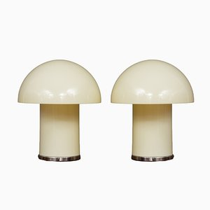 Leila Lamps by Verner Panton & Marcello Siard for Longato, 1960s, Set of 2